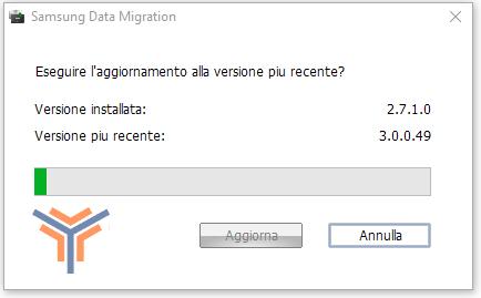 Eseguire aggiornamento SSD