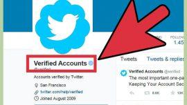 Account verificato Twitter
