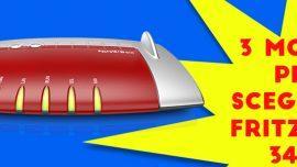 3 motivi per scegliere FRITZ!Box 3490: il salto di qualità per la tua ADSL