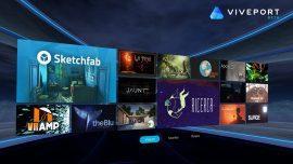 HTC Viveport, il nuovo app store per la realtà virtuale