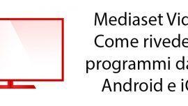 Mediaset video