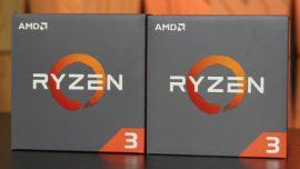 AMD Ryzen 3, i nuovi processori entry-level che sfidano Intel Core i3