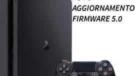 Playstation 4 aggiornamento firmware 5.0: tante news per streaming e community