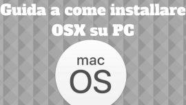 Installare Mac su PC