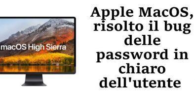 MacOS bug password