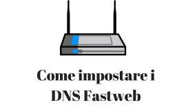 DNS Fastweb