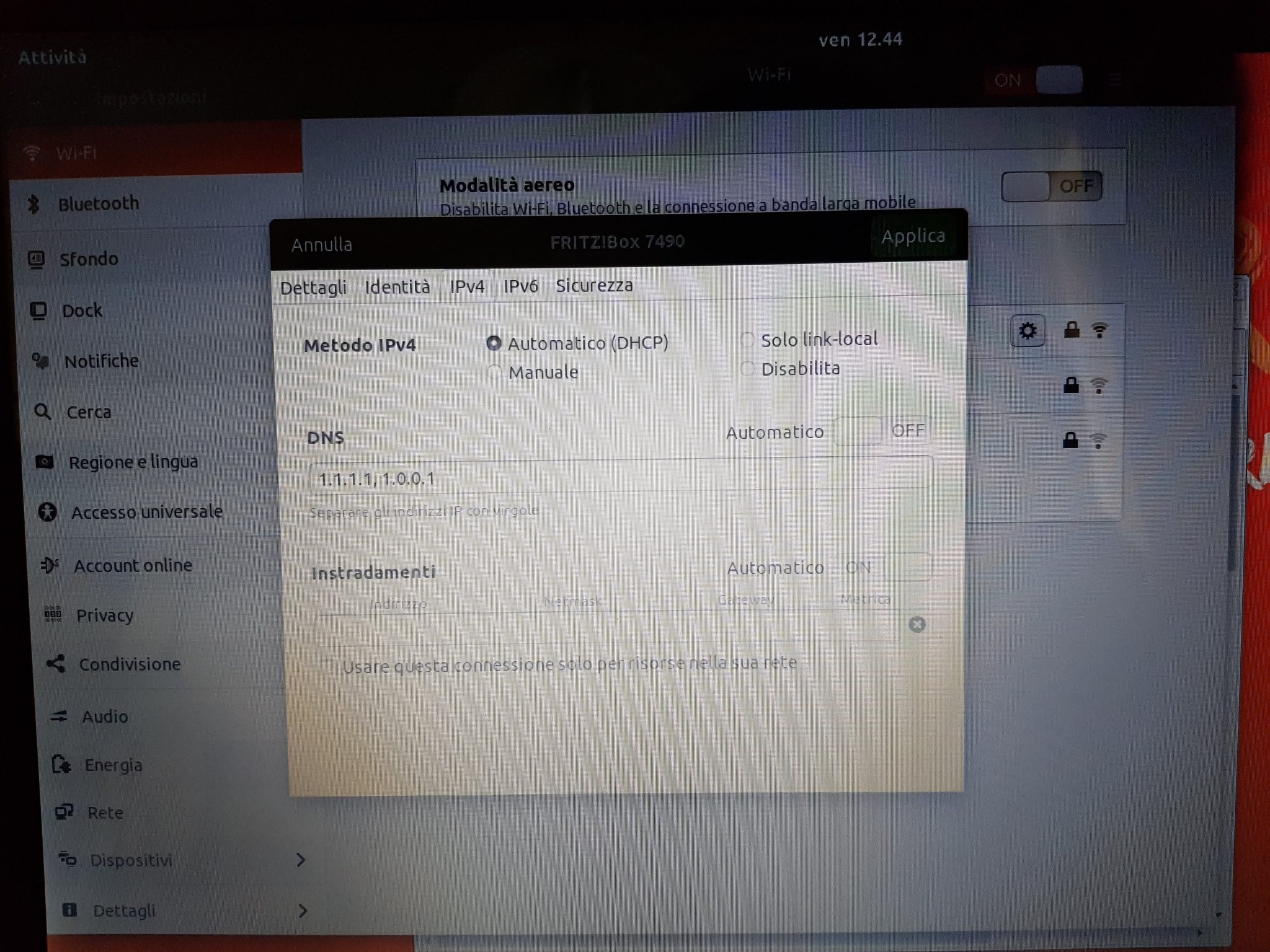 DNS CloudFlare Ubuntu