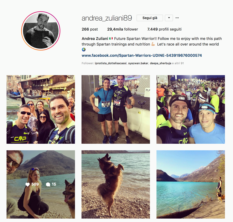 Andrea Zuliani Instagram iGrowth