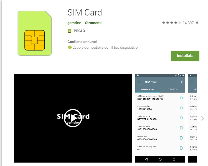 how to find sim serial number on sim card