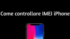 controllo imei iphone
