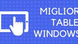Migliori tablet Windows 10