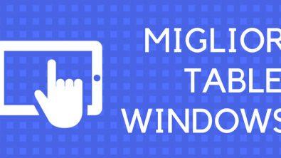 Migliori tablet Windows 10