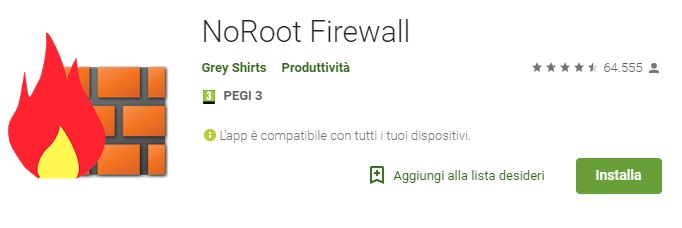 Noroot Firewall Ad block Android