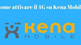 Kena mobile 4G
