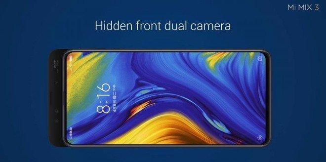 Xiaomi Mi Mix 3 fotocamera