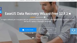 Recupero dati PC Windows EaseUS